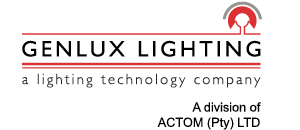 GenLux Lighting Masthead Logo Revised