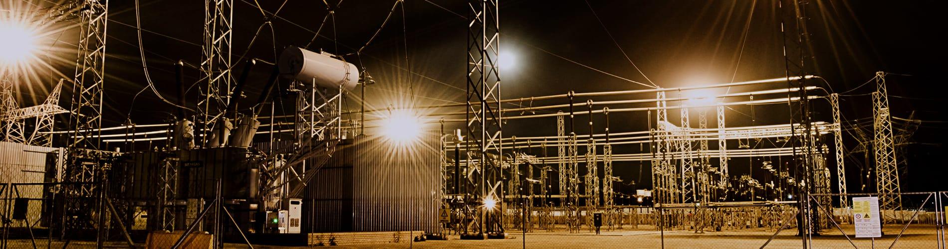 GenLux Lighting Eskom Station Lights